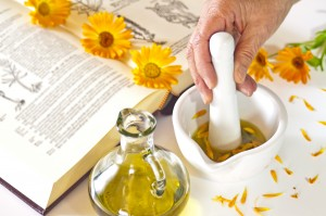 preparing of calendula oil
